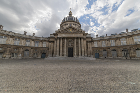 The Institut de France viewed from the pont des Arts