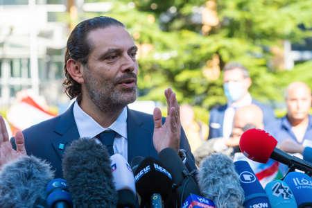 LEIDSCHENDAM, 18 August 2020 - Saad Hariri, ex-Lebanon Prime Minister commenting the Special Tribunal for Lebanon judgement on his father Rafik Hariri assasination
