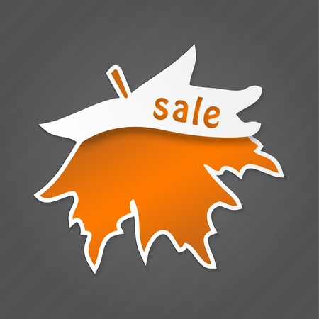 Sale label, tag, sticker design element Vector