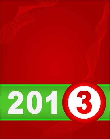 Happy New Year design card vector Vector