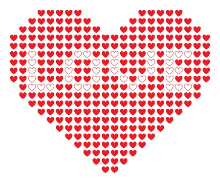 Pixel heart Stock Vector - 16380889
