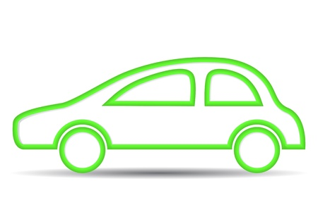 eco car.   Stock Vector - 17179005