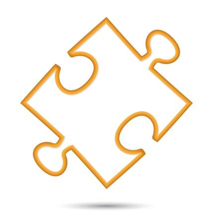 puzzle web icon design element.  illustration Stock Vector - 17179008