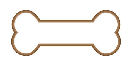 Dog Bone. Illustration Vecteur