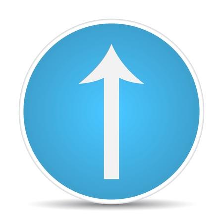 road traffic sign.  illustration Stock Vector - 17885163