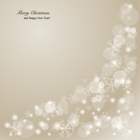 spangles: Elegant Christmas background  Illustration  Illustration