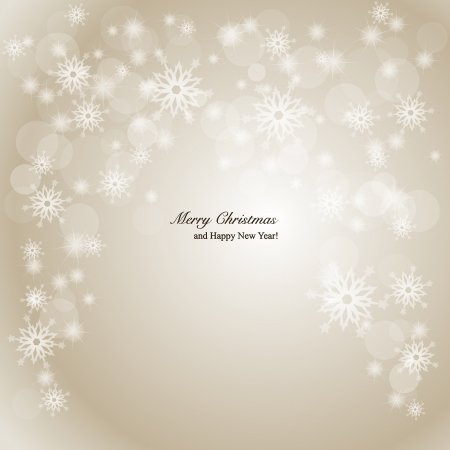 spangle: Elegant Christmas background Illustration