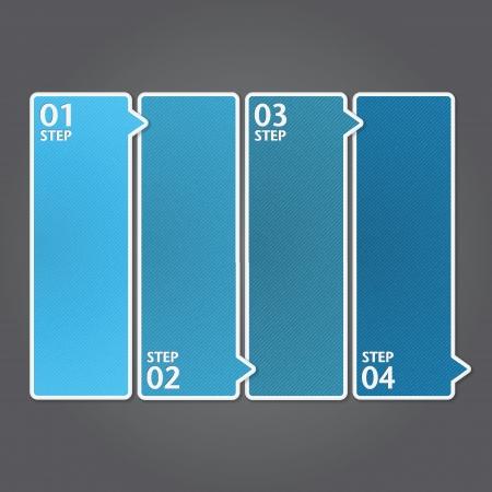 현대 디자인 템플릿  사용할 수있는 인포 그래픽  번호 배너  그래픽 또는 웹 사이트 레이아웃