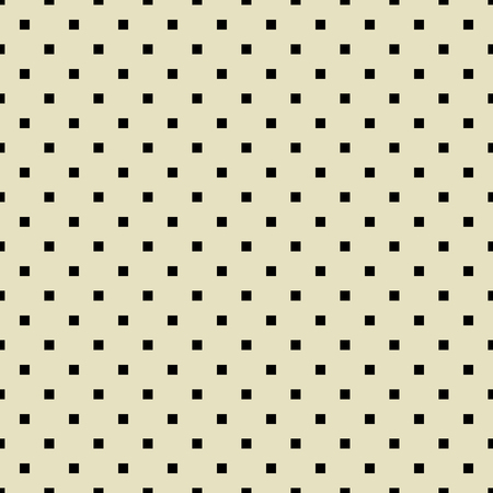 Seamless polka dot pattern with squares  Vector Vector