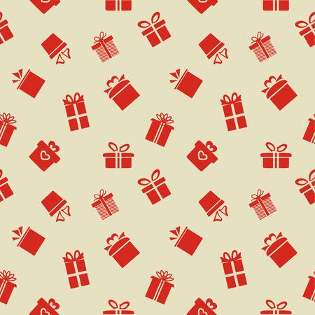 Patron transparente avec les coffrets cadeaux
