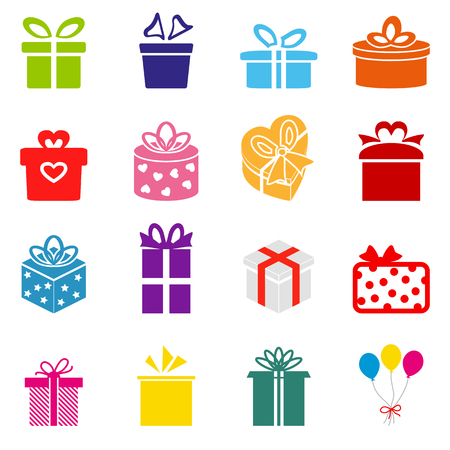 Vector Gift box icon Vector