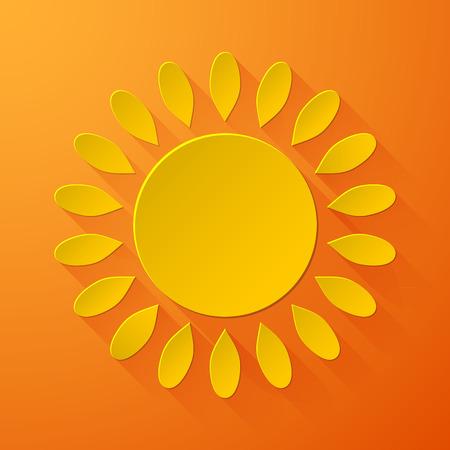 słońce: Słońce Ilustracja