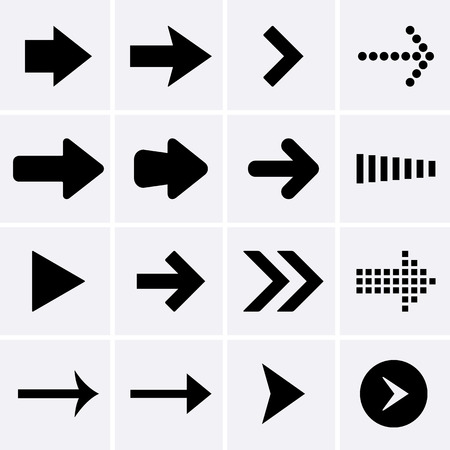 directional arrow: Arrow Icons  Vector