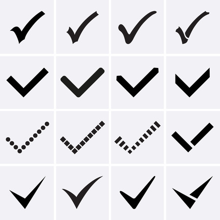Confirm icons