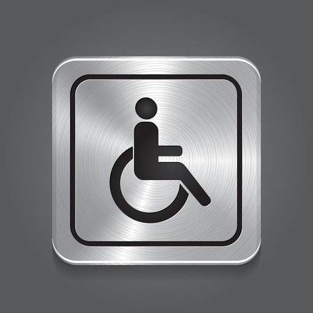 paralyze: Handicap or Wheelchair person Symbol