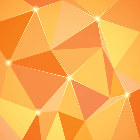 abstract oranje: Abstract oranje achtergrond. Vector afbeelding Stock Illustratie