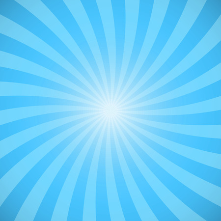 Blue color burst background. Vector illustration 일러스트