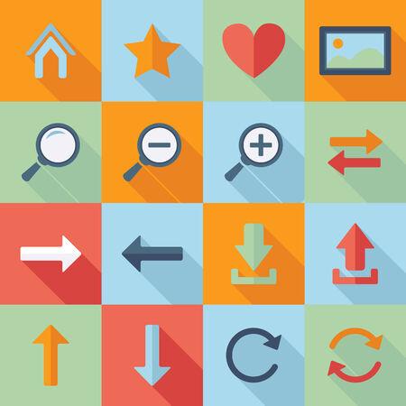 Web Navigation icons.