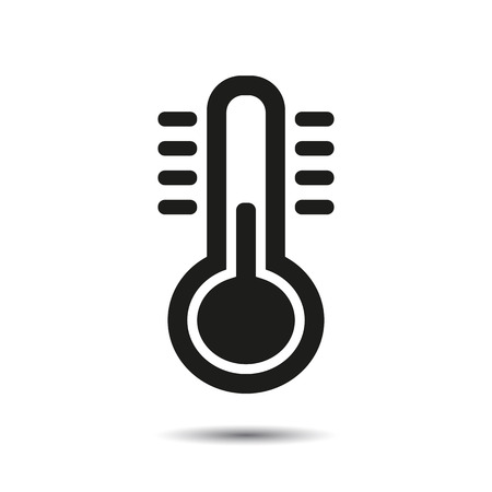 Thermometer pictogram.