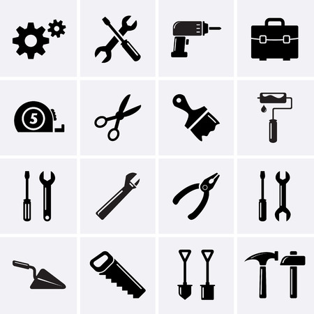 Tools icons.