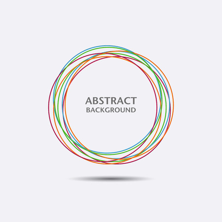 Business abstract circle icon. Vector for design