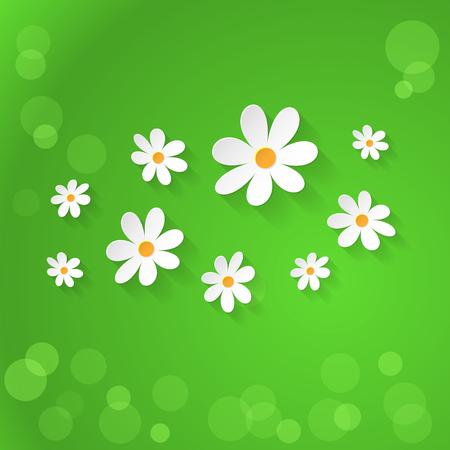 spring time: Vector Floral background. Spring time Illustration