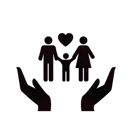 Family Design Icon. Vector Vector