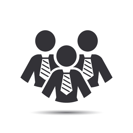 team group: Businesswomen Icons. Team Icons. Group of women (business woman). Vector
