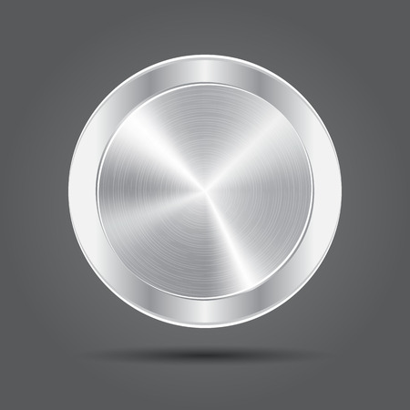 silver medal: Metal button icons. Silver medal.