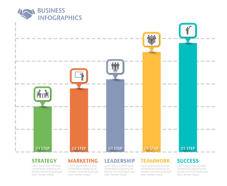Business overview visualization graph infographic data business business overview visualization graph infographic data business template for presentation vector infographics stock wajeb Images