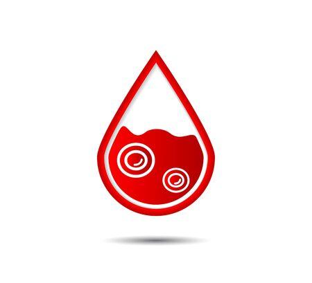 Anemia Icon. Hematology Vector icon
