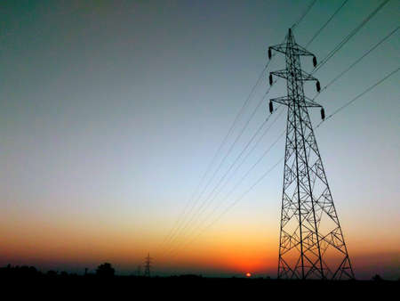 transmit: Sunrise Stock Photo