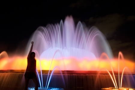 The Magic Fountain of Montjuic photo
