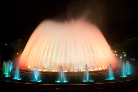 The Magic Fountain of Montju Barcelona, Spain