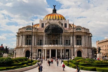 Palace of fine arts, Mexico City, 22 July 2010