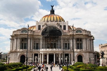 Palais des beaux-arts, Mexico, 22 Juillet 2010 Éditoriale
