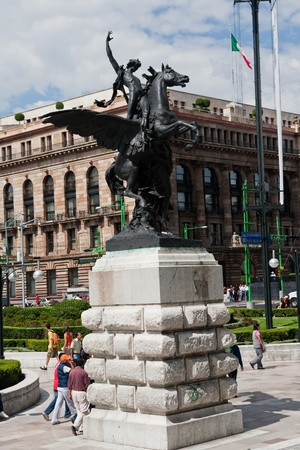 Mexico City, 22 July 2010  Stock Photo - 13289540