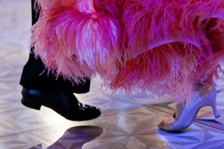 Ballroom dancers  shoes