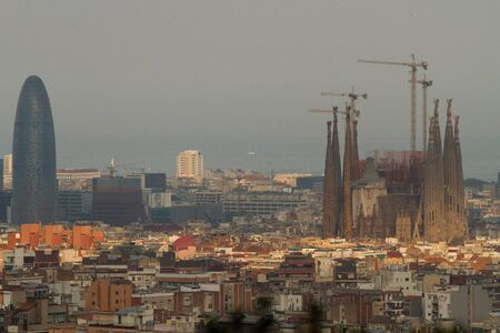 Aerial view of Barcelona, Spain Stock Photo - 12474605
