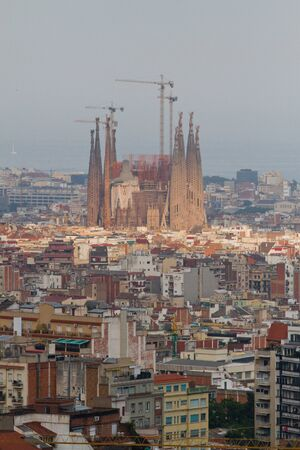 Aerial view of Barcelona, Spain Stock Photo - 12468519