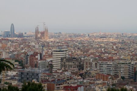 Aerial view of Barcelona, Spain Stock Photo - 12474461