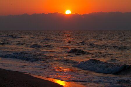 Sunrise in Vadu, Black Sea photo