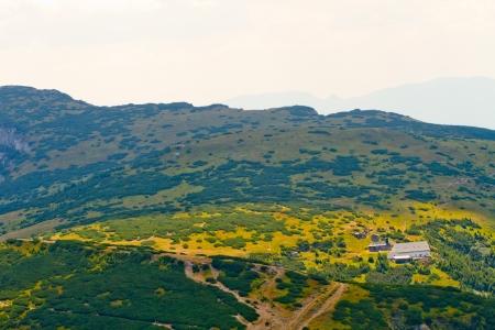 View of Ceahlau, Carpathian  Carpati  Mountains, Romania Stock Photo - 14686536