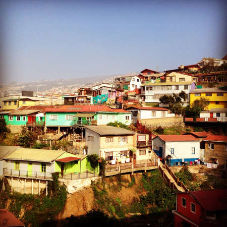 valparaiso: Hills of Valparaiso Chile