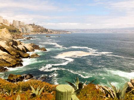 Vina del Mar and Chile coast