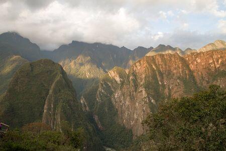 MACHU PICCHU, PERU - SEPTEMBER 03: Machu Picchu, Peruvian Historical Sanctuary since 1981 , one of the New Seven Wonders of the World in Machu Picchu, Peru on September 3rd, 2016 Editorial