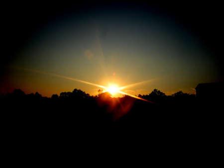 the sun go down photo