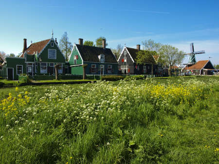 ethnographic: Ethnographic Museum of the province of North Holland  The beginning of summer  A sunny day  Editorial