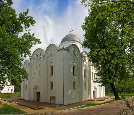 boris: Boris and Gleb Cathedral in Chernigov, Ukraine. Built in the 12th century. It was restored in the forms of ancient architecture in 1958.