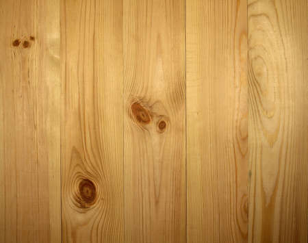 duckboards: background from light pine wooden wainscot with knots Stock Photo